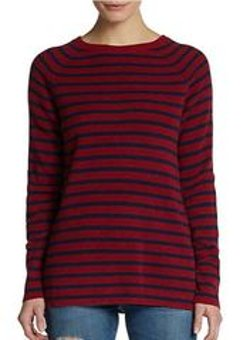 Equipment - Lucien Striped Wool-Blend Sweater