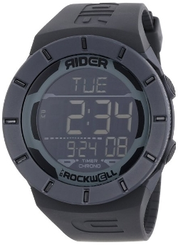 Rockwell Time  - Unisex Coliseum Black Digital Watch