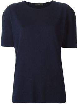 Yang Li - Boxy Knitted T-Shirt
