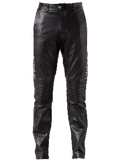 BUILT FOR MAN  - leather trouser