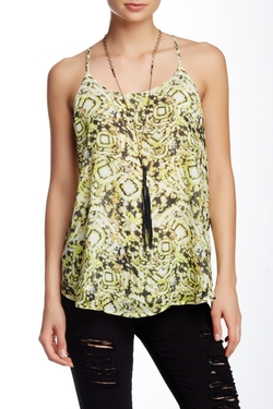 Romeo & Juliet Couture  - Printed Tank Top