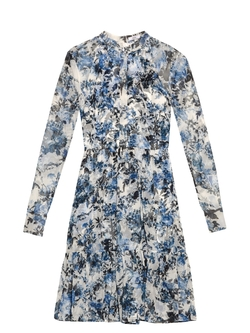 Erdem - Devika Printed Silk-Chiffon Dress