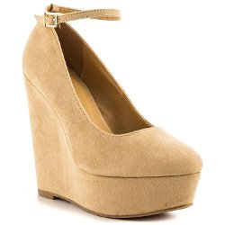 JustFab - Ceres Nude Pumps Shoes