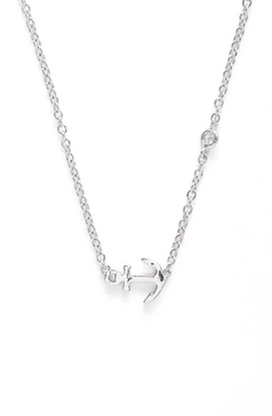 SHY by Sydney Evan  - Anchor Necklace