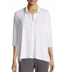 Eileen Fisher - Easy Jersey Shirt
