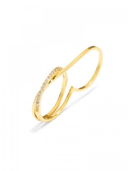 Baublebar - Ice Wrap Two-Finger Ring