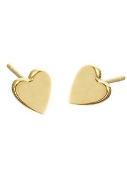 Jennifer Meyer - Heart Stud Earrings