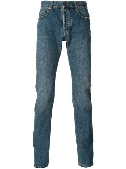 Saint Laurent  - Stone Washed Jeans