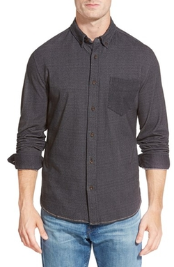 Burberry Brit  - Faded Check Long-Sleeve Sport Shirt