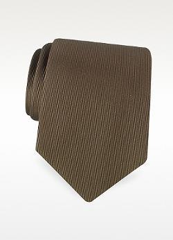 DOLCE & GABBANA  - Solid Twill Silk Tie