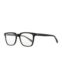 Oliver Peoples - Matte Black Olive Tortoise Eyeglasses