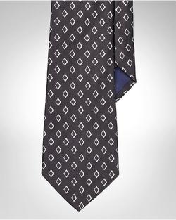 Polo Ralph Lauren - Art Deco Silk Jacquard Tie