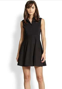 Alice + Olivia - Fit-&-Flare Shirtdress