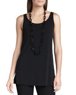 Eileen Fisher - Silk Jersey Long Slim Camisole