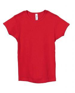 Bella  - Girls 100% Cotton Short Sleeve Crewneck Tee T-Shirt