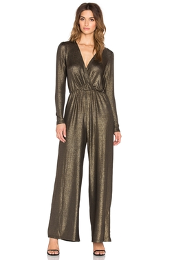 Oh My Love - Jump Around Metallic Jumpsuit