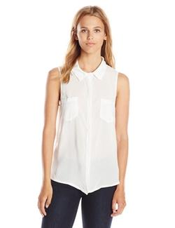 Splendid - Button Front Blouse Shirt