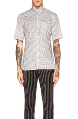 Lanvin - Slim Fit Short Sleeve Shirt