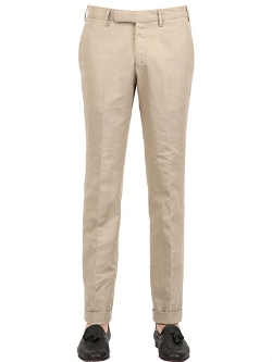 Larusmiani - Cotton Linen Chino Pants