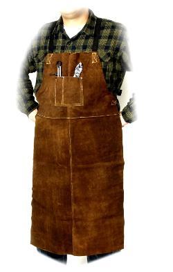 Steiner  - Bib Apron, Weld-Rite Premium Brown Split Cowhide
