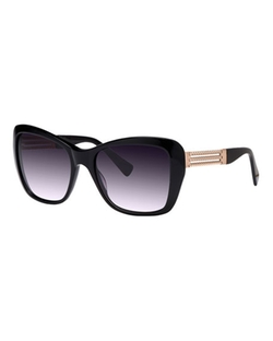 Balmain - Oversized Rectangle Gradient Sunglasses