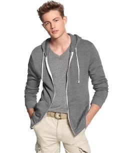 Alternative Apparel - Rocky Full Zip Core Hoodie Jacket