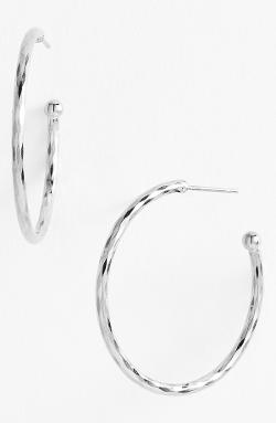 Nordstrom  - Medium Hoop Earrings