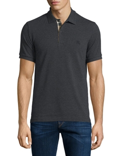 Burberry - Short-Sleeve Oxford Polo Shirt