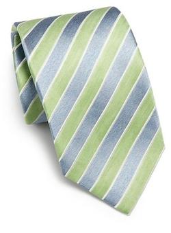 Isaia  - Cravatta Stripe Tie