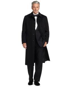 Brooks Brothers - BrooksStorm Cashmere Split Raglan Overcoat