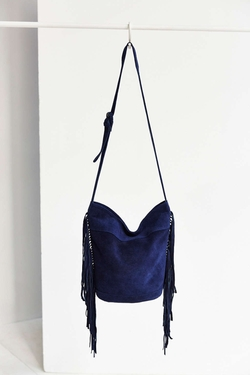 Urban Outfitters - Ecote Suede Fringe Bucket Bag