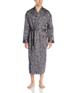Majestic International - Daily Mixers Cotton Kimono Robe