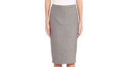 Max Mara - Nestore Wool Blend Pencil Skirt