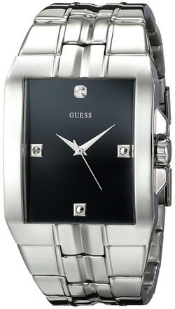 Guess - Diamond Accented Dress Watch