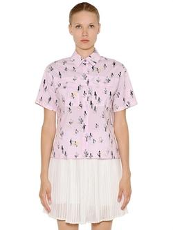 Kenzo - Cactus Print Poplin Shirt