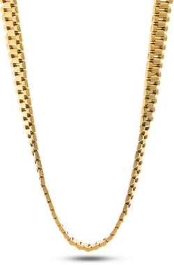 King Ice  - Gold Rolex Link Chain