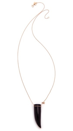 Ginette_NY - Satisfaction Horn Necklace