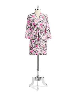Oscar De La renta - Floral Kimono Robe
