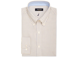 Nautica  - Yellow Check Dress Shirt