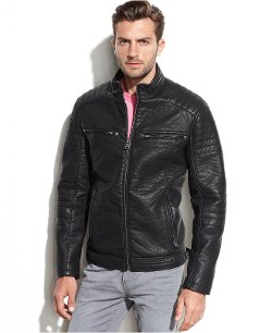 Buffalo David Bitton - Faux Leather Moto Jacket