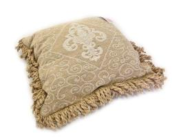 Roux Brands - Fleur De Lis Fringe Pillow