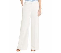 Lauren Ralph Lauren - Wide-Leg Pleat Pants
