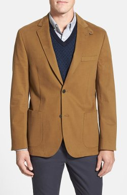 Flynt - Washed Italian Stretch Cotton Sport Coat