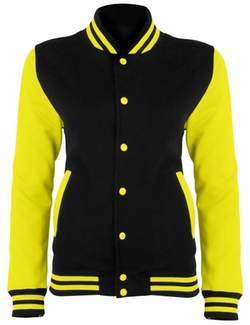 Awdis  - Electric Color Varsity Jacket