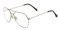 QLook -  Aviator Clear Lens Glasses