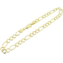 IcedTime - Figaro Cuban Mariner Link Bracelet