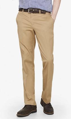 Express - Stretch Cotton Photographer Dress Pants