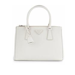 Prada - Saffiano Lux Double-Zip Tote Bag