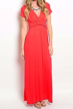 Compendium Boutique - Ravishing Red Maxi Dress