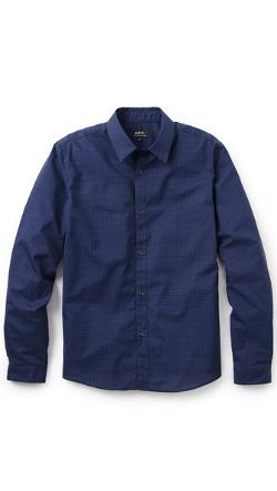 A.P.C.  - Check Mike Shirt